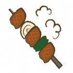 バーベキュー 焼き鳥の串を焦がさない方法とスペアリブの焼き方のコツ