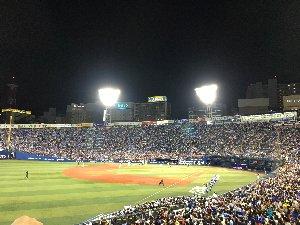 横浜スタジアムナイター