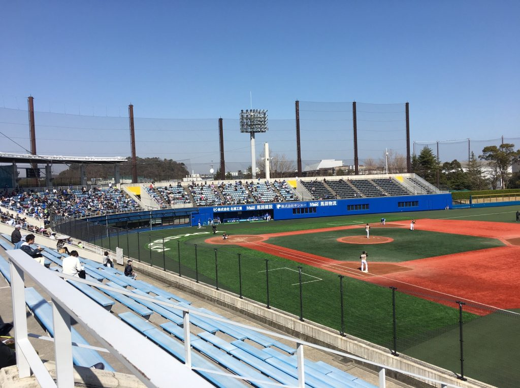 横須賀スタジアム ベイスターズファーム