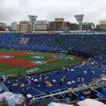横浜スタジアムの座席が全て青に 内野席にはネットも 2018年の変化と工事の状況