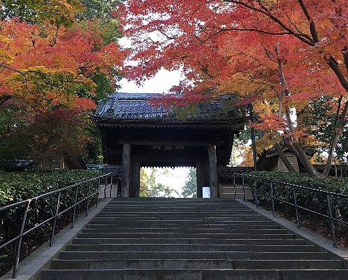 北鎌倉の本覚寺